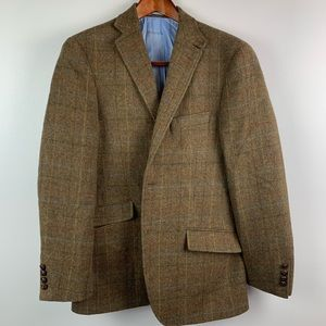 M&S Sartorial Mens 40 R Sport Coat Yorkshire Tweed